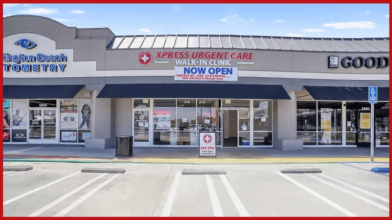 Huntington Beach xpress urgent care