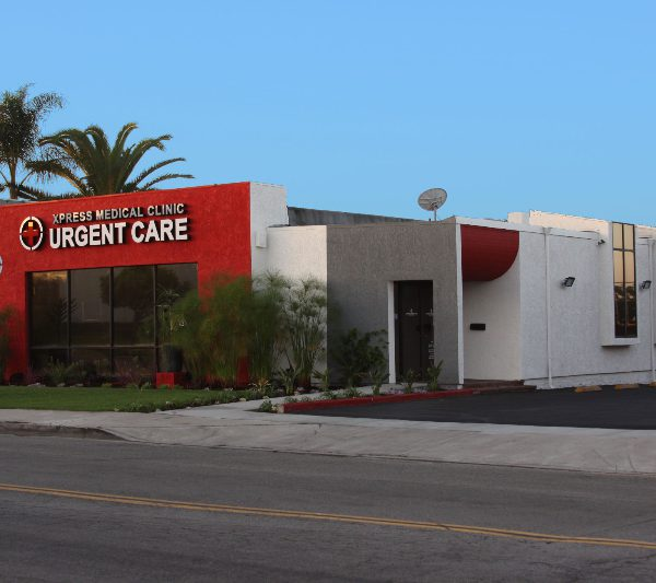 xpress urgent care location front view