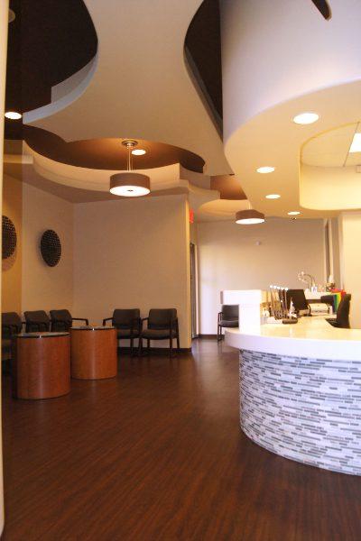 xpress urgent care location reception view